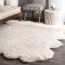 White Fur Area Rug Area Rugs Faux Fur Rug Cheap Sheepskin Skin Amazing