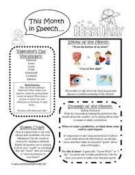 february speech newsletter is up freebie