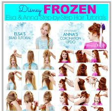 anna from frozen hairstyle elsa and anna from frozen hair tutorial pictures photos and