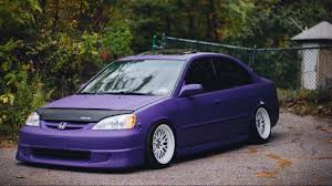 honda 7th civic slammed civic 7th