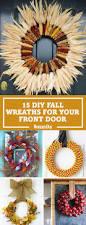 Fall Homemade Decorations - 20 diy fall wreaths easy ideas for autumn wreaths