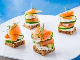 canapé apéritif facile toasts apéro 5 recettes de la mer à tartiner femme actuelle