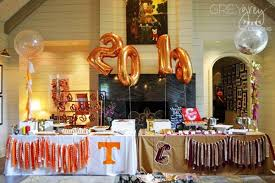 college graduation centerpieces 75 graduation party ideas your grad will for 2017 shutterfly