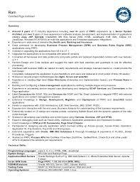 Testing Tools Resume Ram Pega Cssa Resume