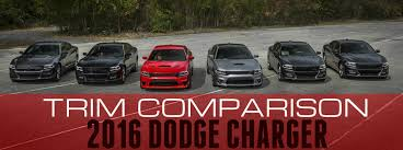 dodge charger model years 2016 dodge charger trim comparison palmen dodge chrysler jeep of