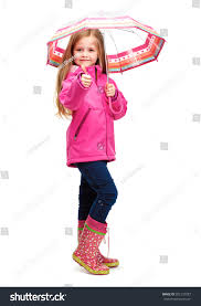 portrait child wearing pink clothes stock photo 301210787