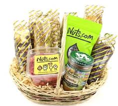 organic spa gift baskets the delectable organic gift basket nuts inside organic gift