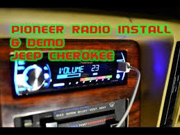 jeep cherokee radio installation 2013 pioneer deh x3500ui with