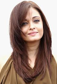 hairstyle for heavier face on woman cute long layered hairstyles with light brown copper hair color