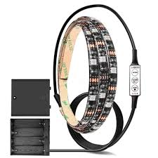 Led Lights Flexible Strip by Amazon Com Onever Dc 6v Smd 5050 Led Strip Lights With Battery