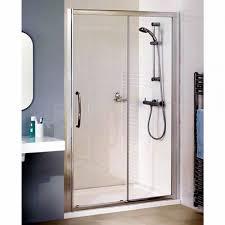 lakes classic semi frameless sliding shower door uk bathrooms