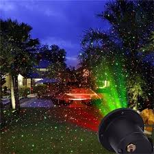 christmas laser light show remote static and green sparkling outdoor christmas laser