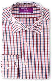 lorenzo uomo trim fit multi check dress shirt where to buy u0026 how