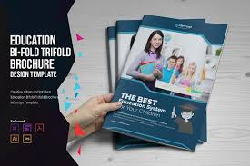 brochure design templates for education education bifold trifold brochure brochure templates creative