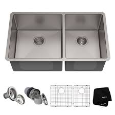 what size undermount sink fits in 30 inch cabinet 33 undermount 16 stainless steel 60 40 bowl kitchen sink