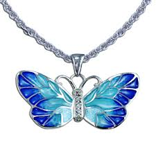 necklace butterfly images Guy harvey butterfly necklace sterling silver and enamel on jpg
