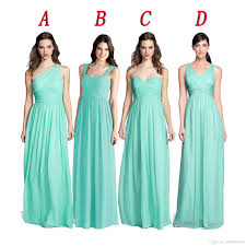 mint green bridesmaid dress 2016 chiffon bridesmaid dresses mint green vestidos de