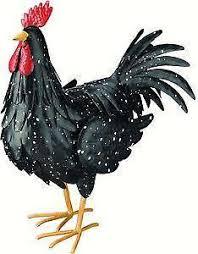 metal rooster home garden ebay