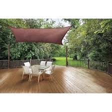Canopy Triangle Sun Shade by Shadelogic Sun Shade Sail Heavy Weight 12 U0027 Square Terracotta