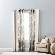 Jc Penneys Curtains And Drapes Jcpenney Home Quinn U0026 Farrah Grommet Top Curtain Panels Jcpenney