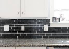 Black Countertop Backsplash Ideas Backsplash Com by New Caledonia Granite Countertop White Kitchen Cabinets With Black