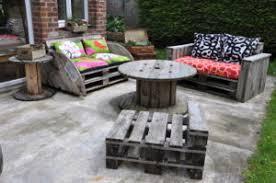 canapé exterieur palette salon de jardin palette achat idées de décoration capreol us