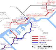 rotterdam netherlands metro map rotterdam transport page 2 skyscrapercity