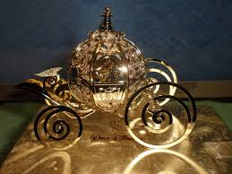 baldwin brass cinderella coach ornament gold and silver