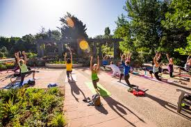 Denver Botanic Gardens Evening Vinyasa At Denver Botanic Gardens Catchcarri