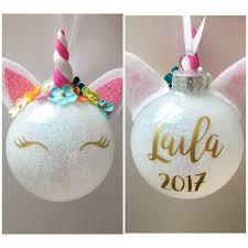 phenomenal unicorn ornament unique ideas personalized