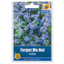 forget me not seed packets forget me not indigo seed packet
