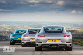 miami blue porsche turbo s 2017 porsche supertest 991 2 carrera v gts v turbo s total 911