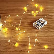 battery powered christmas lights amazon buy beauty lights copper string lights 3 aa battery operated