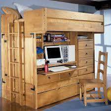 find more bunk bed loft with trundle desk and closet for sale at
