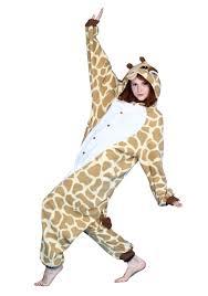 giraffe halloween costumes giraffe pajama costume