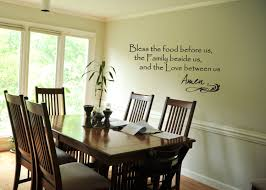 dining room wall decals wall decal bless the food before us quote prayer dining room