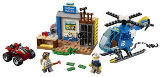 lego police jeep lego juniors mountain police chase 10751 toys