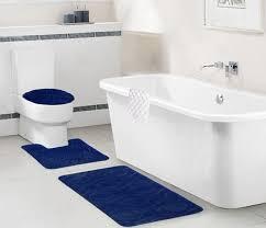 bed u0026 bath modern bathroom with 3 piece blue navy ribbed bathroom