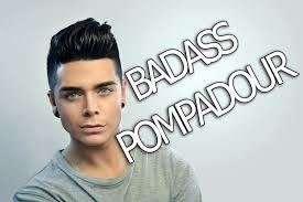 todays men black men hair cuts style men s hairstyle tutorial badass pompadour youtube