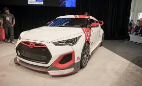 hyundai veloster car and driver hyundai reveals veloster based velocity concept 2012 sema