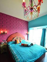 bedroom colorful chandelier moroccan bedroom ideas with
