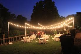 Restaurant String Lights by Outdoor Wedding Lighting Decoration Ideas U2014 Home Landscapings