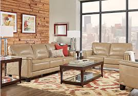 Affordable Living Room Sets For Sale Sofia Vergara Mendocino Taupe 7 Pc Living Room 1 699 99 Find