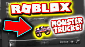 monster jam puff trucks this is the new monster truck in roblox jailbreak youtube