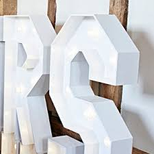 white light up letters light up letters giant light up letters for weddings and events in
