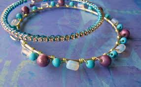make bracelet beading wire images Wire lashing an easy way to cover your jewelry with beads or jpg