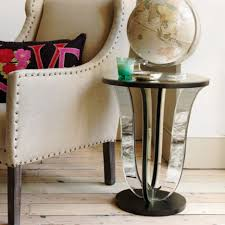 living room end table ideas furniture home brown varnished wood side table shelves accent wall