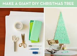 how to make a and festive space saving tree curbly