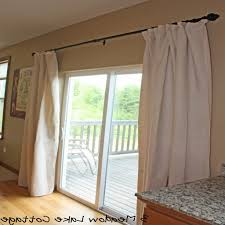 confortable pendant in patio door curtain rods patio decoration