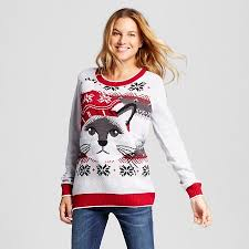 sweater target s fairisle cat pullover